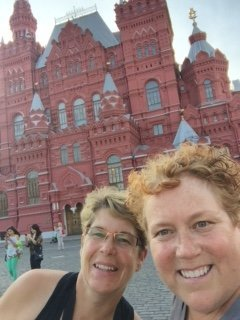 Selfie in Red Square