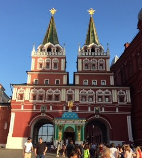 Entrance to Red Square