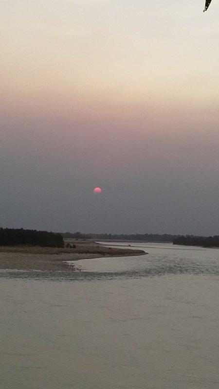 Karnali sunset