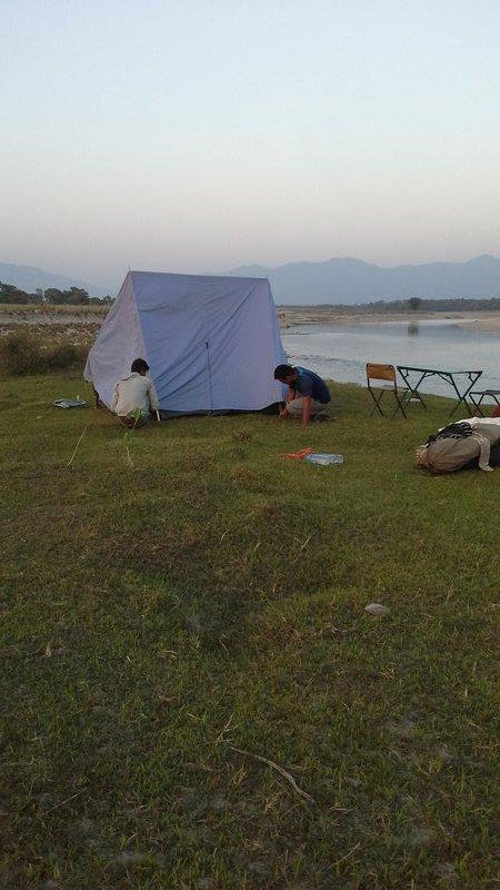 A splendid tent
