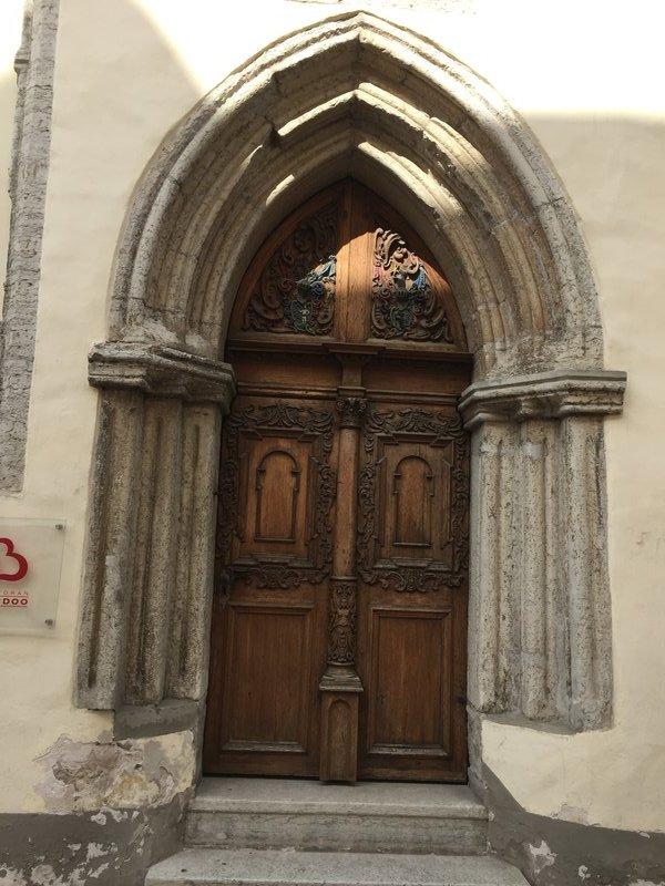 One of many beautiful doorways