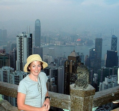 Hong Kong from atop Victoria's Peak