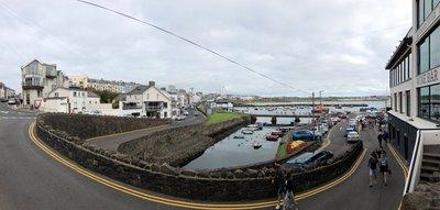 The harbor at Portrush