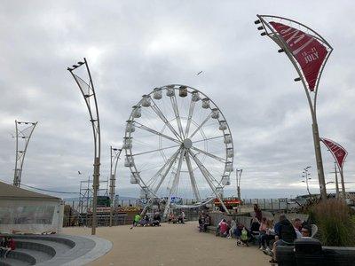 Amusement park at Portrush