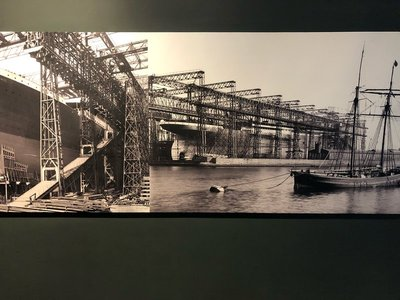 Construction of the Olympic, Titanic, and Britannic