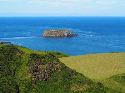 Along the Antrim Coast