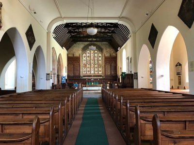 Inside St. Multose's Church