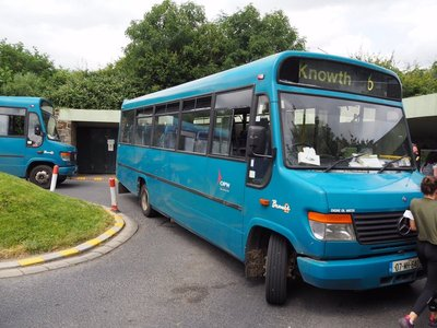 Our bus to New Grange site