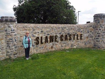 Karen at Slane Castle