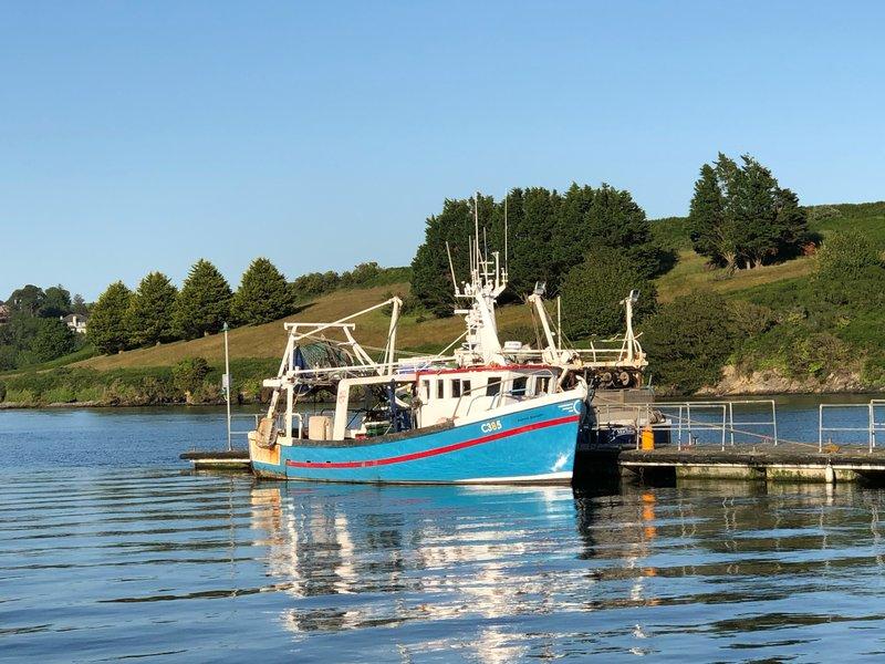 Fishing boats at Kinsale Harbor