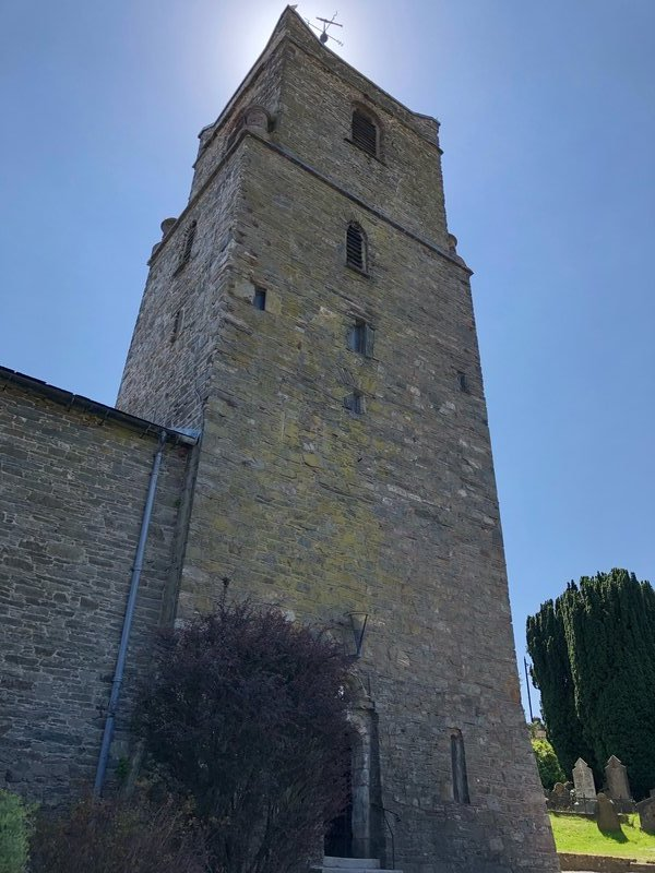 Bell tower of St. Multose's Church