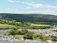 On the edge of The Burren