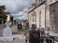 Kilfenora Cathedral cemetery