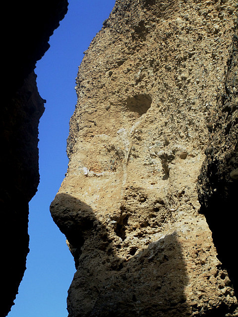 Face in Sesriem Canyon