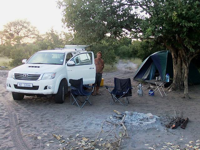 Our camp Savuti