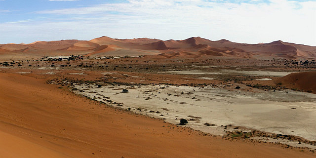 Dunes at Sossus Vlei