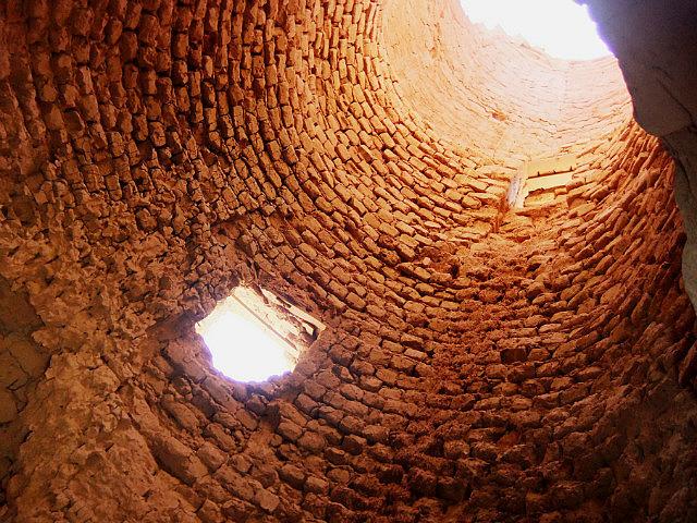 Inside strange structure