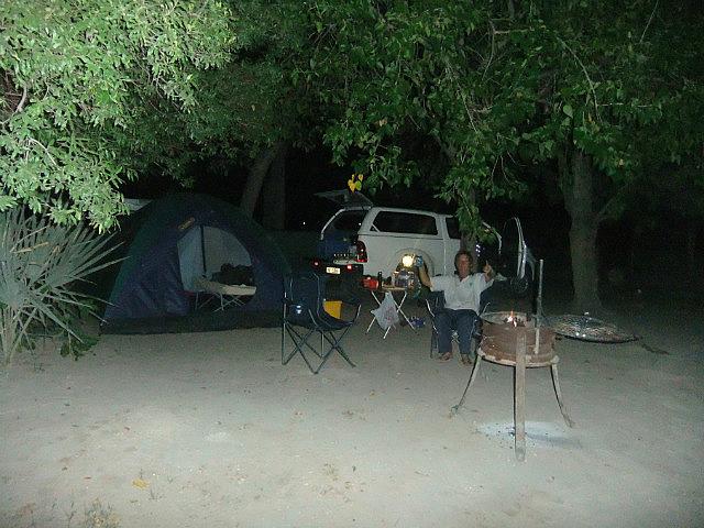 Campsite Maun