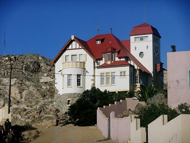 German architecture at Luderitz