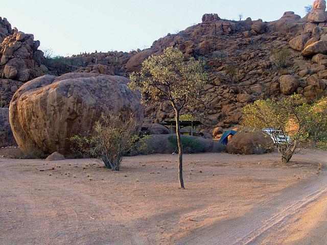 Camp view Twyfelfontein