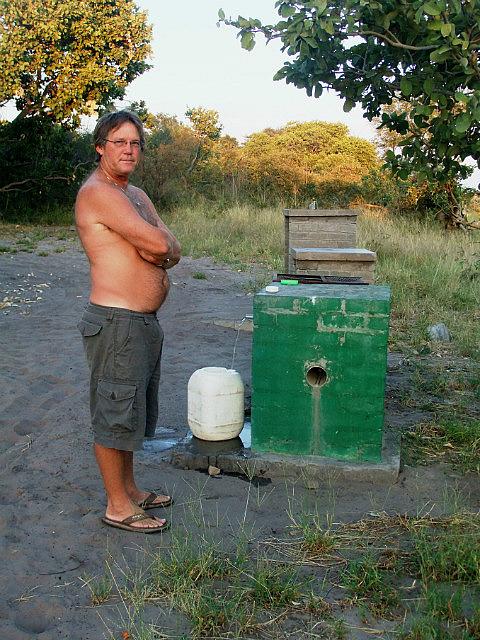 Water supply Savuti