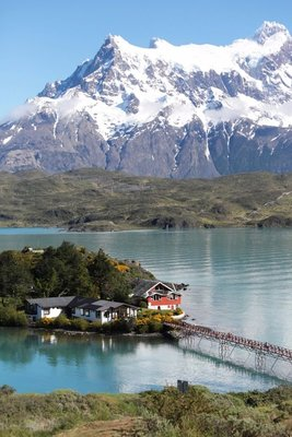 Not our hotel - Torres del Paine National Park