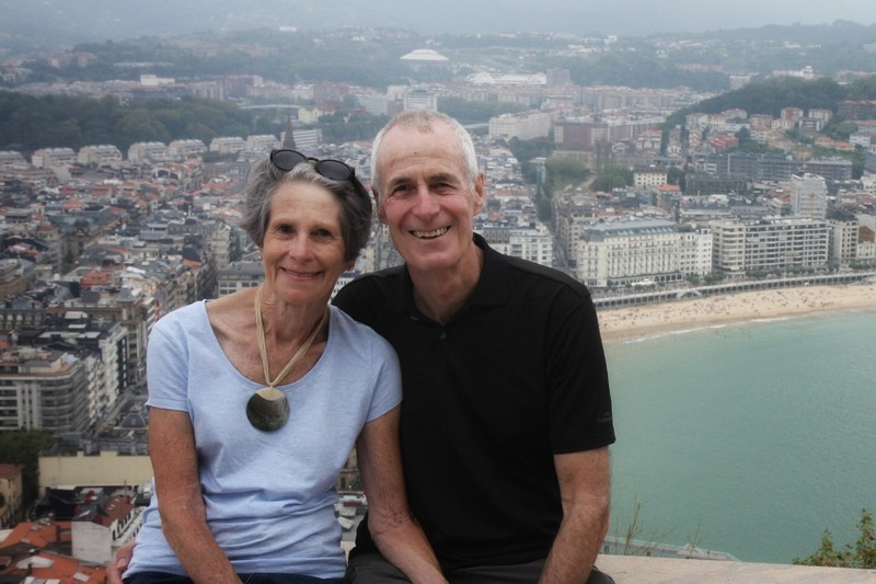 Taken at the top of the 'Mount' overlooking San Sebastian city - on a grey Monday