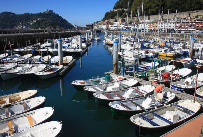 Small boat harbour- San Sebastian