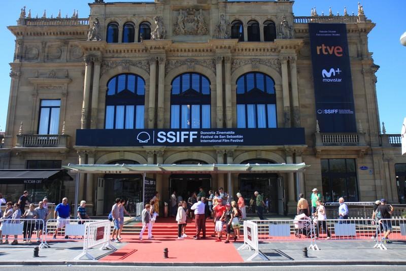 Red Carpet outside main theatre hosting San Sebastian International Film Festival