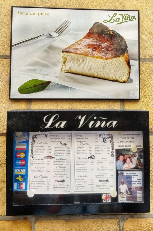 La Viña - renowned cheesecake cafe - absolutely divine taste - not to be missed