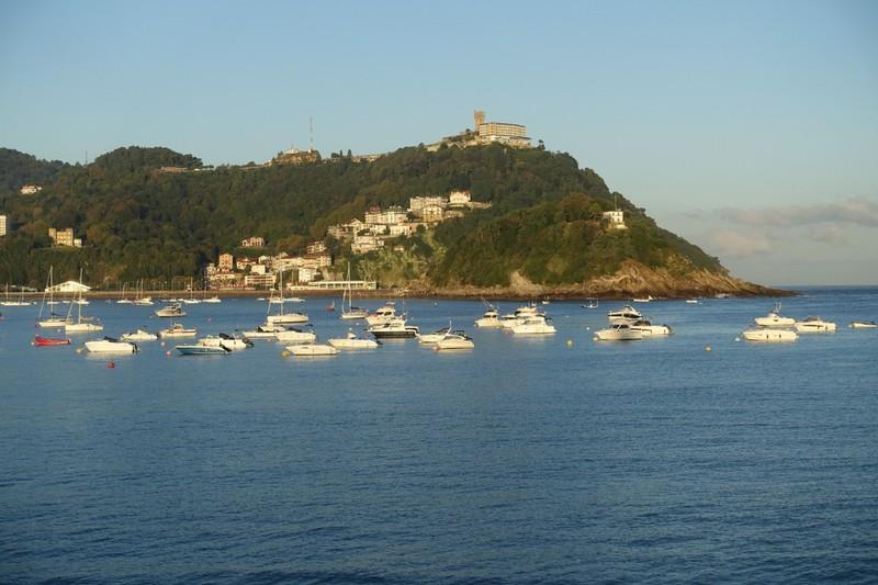 Leaving San Sebastian - early morning.