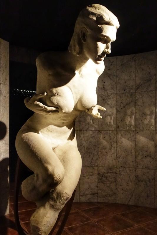 Persephone - goddess of Spring growth - sculpture in Bodega Ontañón - Logroño