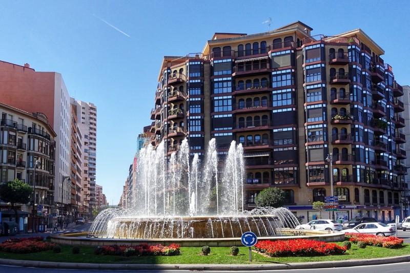 Logroño - centre of Rioja region