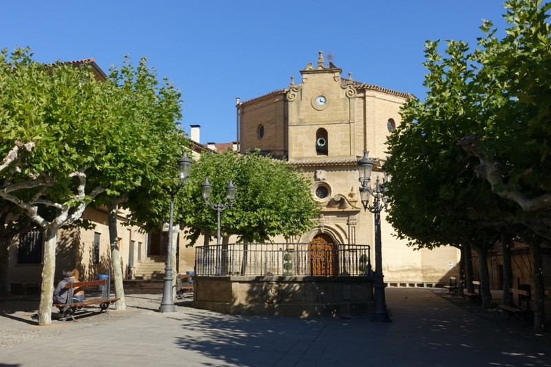 Village square - Elciego, Rioja region