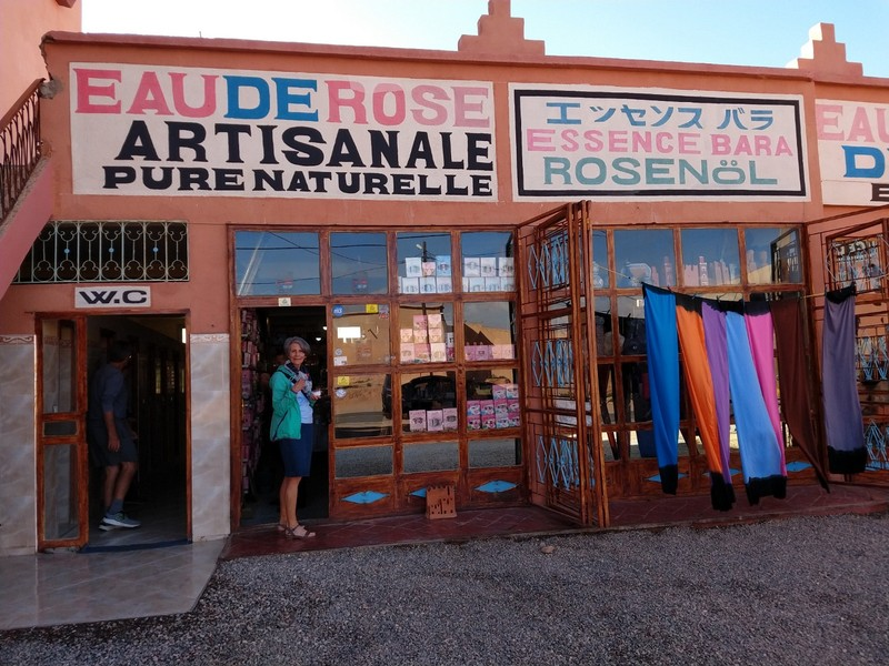 Rose-petal product shop