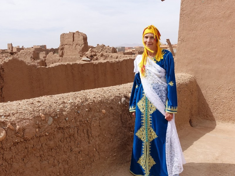 All dressed up - Berber style