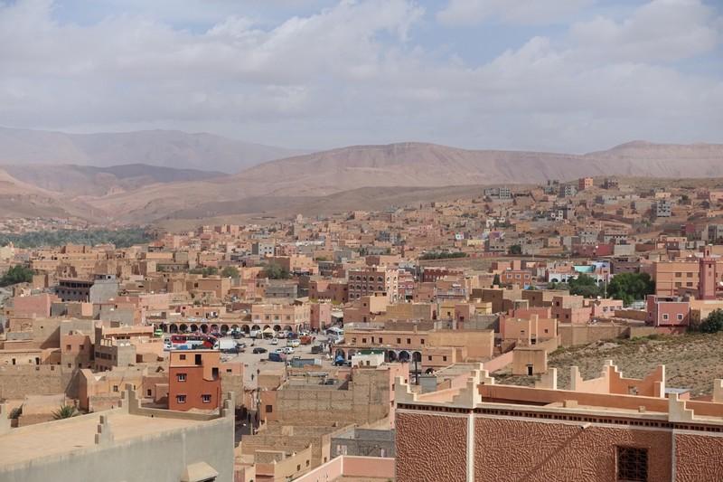 Berber town along the way