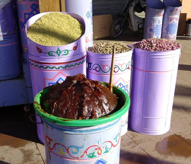 Hamman - massage 'cream' made from olives