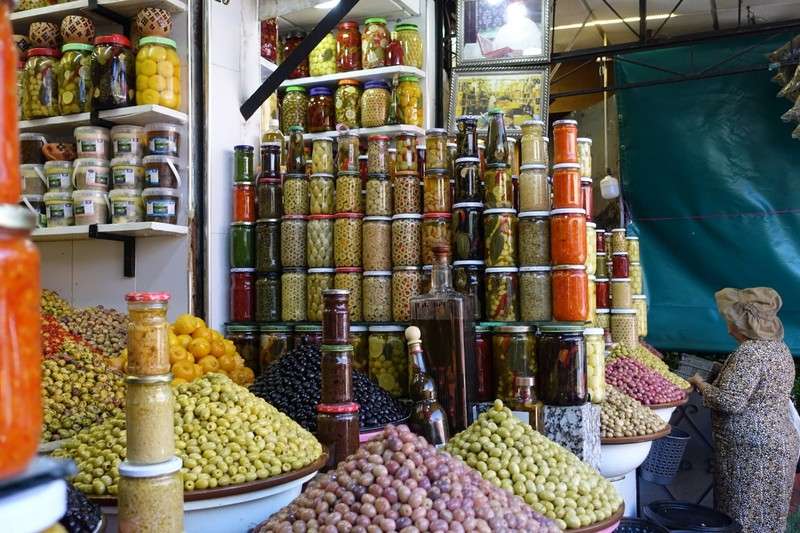 You;d like some olives??  - Marrakech