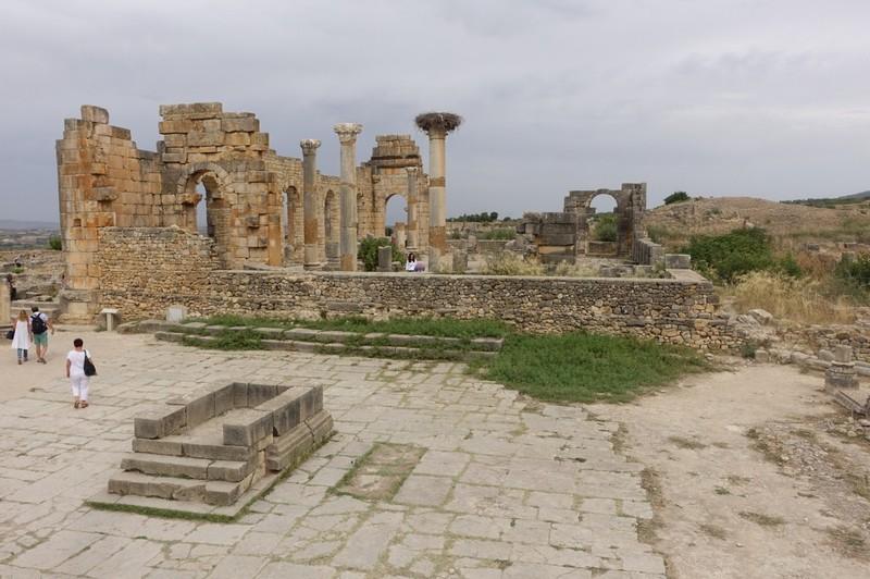 Volubilis Roman City ruins
