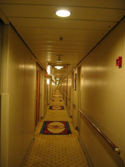 Long...... corridor to our room