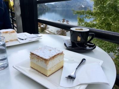 Cake at the lake