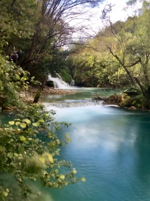 Area of gentle cascades