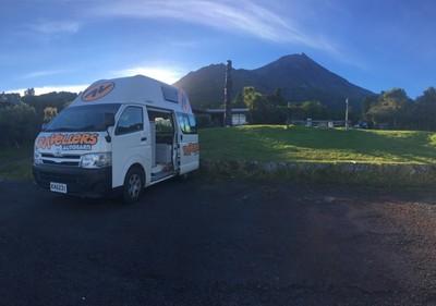 Taranaki camping spot
