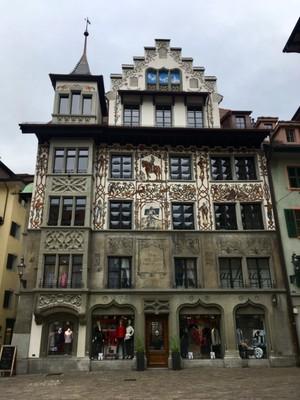 Building in central Lucerne