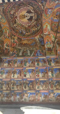 Monastery frescoes
