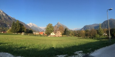 Bovec in the afternoon
