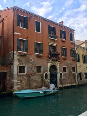 Popping to the shops is a pain in Venice