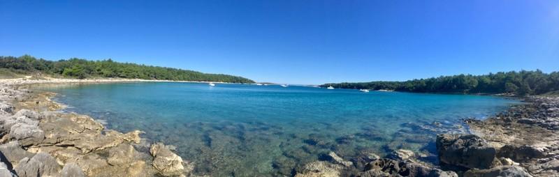 The beautiful Adriatic at Kamenjak