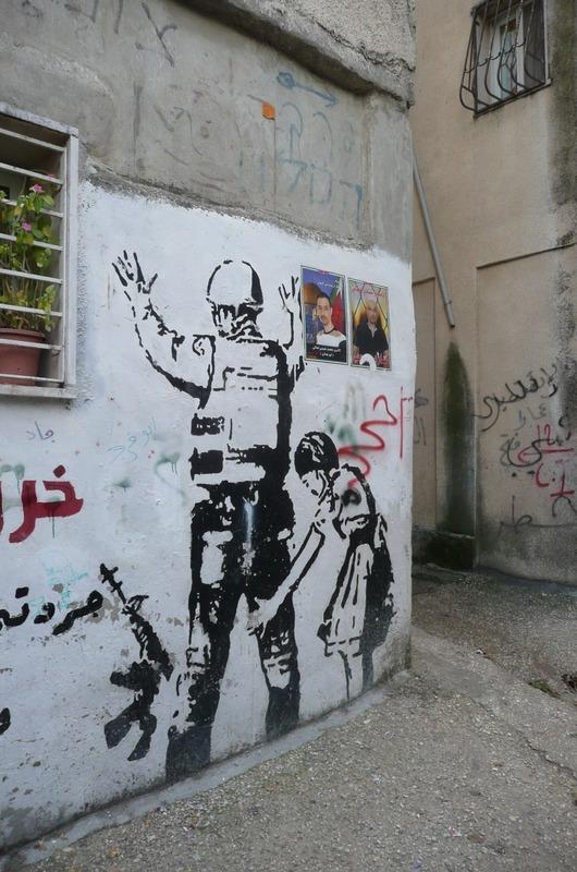 Graffiti in the Refugee Camp